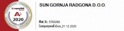 SUN Gornja Radgona d.o.o.