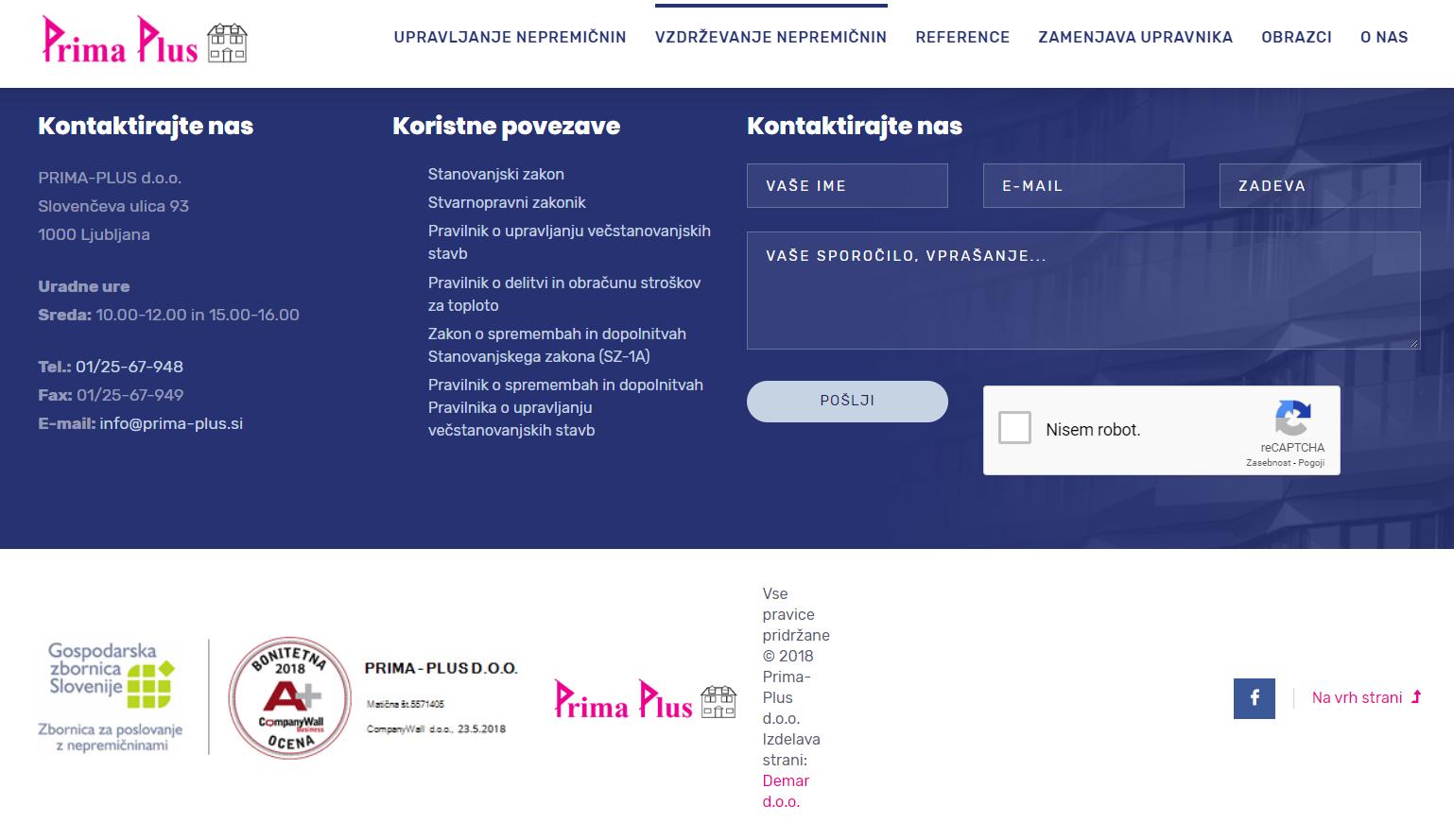 PRIMA - PLUS d.o.o.